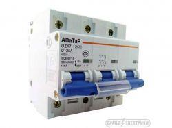 Автоматичний вимикач посилений 3х125а ST440 ТМАВАТАР