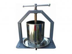 Прес для віджиму соку, ручний (металнерж.) 10л ТМВІНИЦЯ