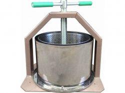 Прес для віджиму соку, ручний (металнерж.) 15л ТМЛАН