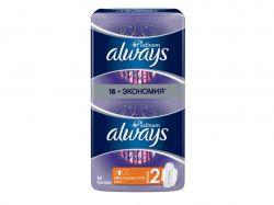 Гігієнічні прокладки Always Ultra Normal Plus Platinum 16 шт. ТМALWAYS