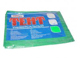 Тент будівельний 100гр/м2, 2 х 3м (CVN agro) зелений ТМУкраїна