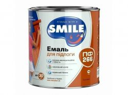 Емаль для підлоги ПФ266 жовтокоричнева 0,9 кг ТМSmile
