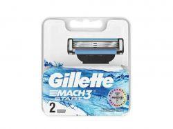 Змінні картриджі для гоління Gillette Mach 3 Start (2 шт) ТМGillette