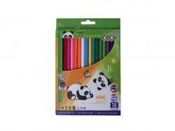 Олівці кольорові, 18 кольорів, KIDS LINE ZB.2415 ТМZIBI