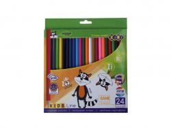 Олівці кольорові, 24 кольорів, KIDS LINE ZB.2416 ТМZIBI