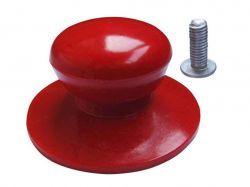 Ручка для кришки ебонітова ? 35мм червона 9940 ТМEMPIRE