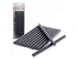 Комплект стрижнів клейових чорних 11,2 мм * 200 мм, 12 шт. RT-1023 ТМINTERTOOL