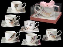 Чайна пара (чашка 230мл) Swarovski 2320 ТМSNT