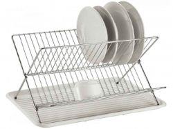 Сушарка для посуду складна СВ851, 43х32х25 см ТМCON BRIO