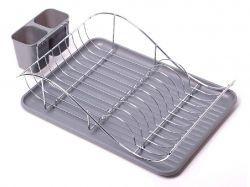 Сушарка для посуду 52*32*13 см (сірий ) 0761B ТМKAMILLE