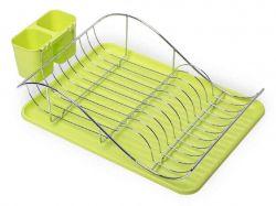 Сушарка для посуду 52*32*13см (зелена) 0761A ТМKAMILLE