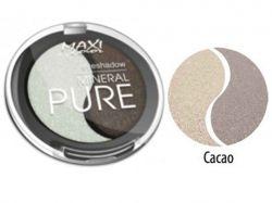 Тіні для повік Mineral Pure 3г тон 10 Какао ТМMAXI COLOR