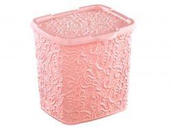 Кошик д/речей з криш. мереживний 230/205/230 мм рожевий 33212154 ТМElif