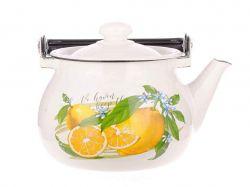 Чайник емальований 2,5л/2 Лимон (I2710/2) ТМIDILIA