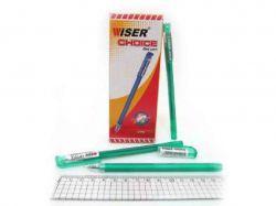 Ручка гел. Wiser Choice 0,6мм (12 шт/уп) зелена choice-gr ТМУкраїна