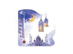 Термометр кімнатний на магніті Мечеть П-21 ТМСТЕКЛОПРИБОР