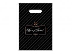 Пакет з прорізною ручкою Лакшері 220*300 (50 шт в уп) ТМПластик Пак