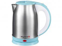 Чайник електричний (1,8 л, 2,0 кВт, нерж) VS18102-blue ТМ VILGRAND