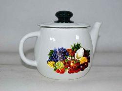 Чайник емальований 1л/2 Тропіканка (І2707/2) ТМIDILIA