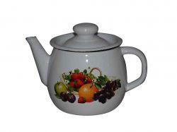 Чайник емальований 1л/2 Вітамінка (І2707/2) ТМIDILIA