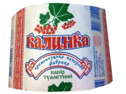 Туалетний папір 6 шт Калинка (13х10 см) ТМКременчуцький Пап. Завод