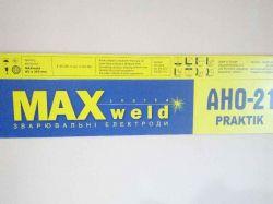 Елекроди АНО-21 Praktik (Е46), 3 мм, 1кг ТМMAXweld