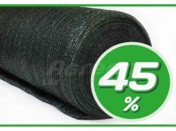 Сітка затінююча 45% затінювання зелена 10 х 50 м ТМAGREEN
