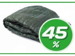 Сітка затінююча 45% зелена, в пакеті, 4х10м ТМAGREEN