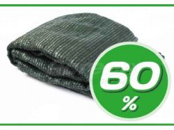 Сітка затінююча 60% зелена, в пакеті, 6х10м ТМAGREEN
