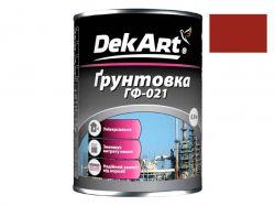 Грунтовка ГФ-021 червоно-коричнева - 0,9 кг ТМDekArt