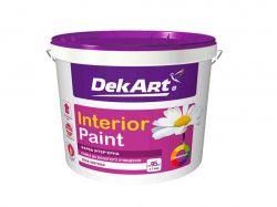 Фарба інтерєрна, 1,2 кг Interior Paint біла матова ТМDEKART