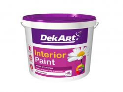 Фарба інтерєрна, 4 кг Interior Paint біла матова ТМDEKART