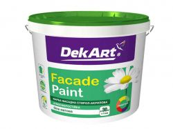 Фарба фасадна, біла матова -6,3 кг ТМDekArt