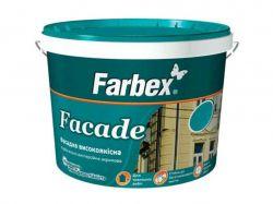 Фарба фасадна високоякісна ВДА Facade біла матова -1,4 кг ТМFARBEX