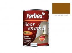 Емаль алкідна ПФ-266 золотисто-коричнева -0,9 кг. ТМFARBEX