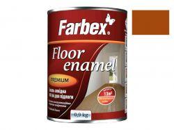 Емаль алкідна ПФ-266 жовто-коричнева -0,9 кг. ТМFarbex