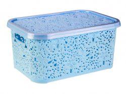 Кошик Ажур 6л блакитна ТМR-plastic