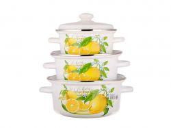 Набір ем. посуду 3-х предм. №762 Лимон ТМIDILIA