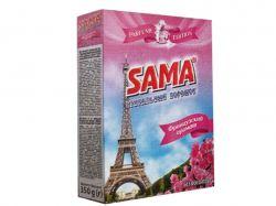 Пральний порошок безфосфатний універсальний Французький аромат 350г ТМSАМА