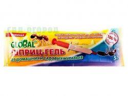 Гель-шприц від тарганів та мурах, 40г ТМGLOBAL