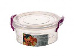 Контейнер харчовий круглий 0,6л 4820143571245 ТМAL-PLASTIK