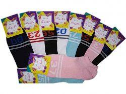Шкарпетки жіночі спорт сітка арт. 242-s р.36-40 (12 пар/уп) ТМНастя