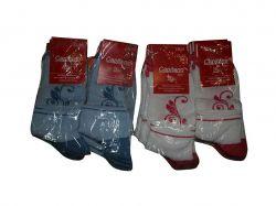 Шкарпетки жіночі сітка (10 пар в уп) квіти р.23-25 ТМCAPITANO