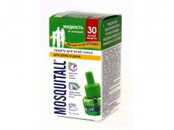 Рідина від комарів 30мл (30 ночей) Захист для всієї родини ТМMOSQUITALL