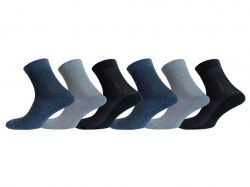 Шкарпетки чоловічі сітка х/б мікс (12пар) р.27 MG 401 ТМLOMANI