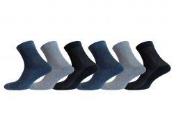 Шкарпетки чоловічі сітка х/б мікс (12пар) р.29 MG 401 ТМLOMANI