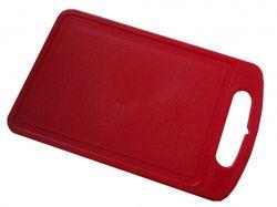 Дошка обробна пластикова 25*15см червона 168027 ТМАЛЕАНА