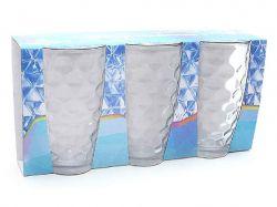Набір склянок 425мл (3шт) прозорий 533-41 ТМBONADI