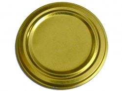Кришка Твіст-офф 66 Золото (20шт в спайці) ТМПЕРВОСМАК