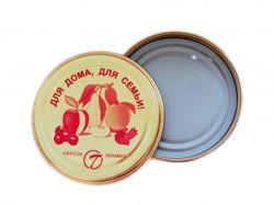 Кришка закаточна СКО I-82 (емаль) (50шт в спайці) ТМТАЛАМУС